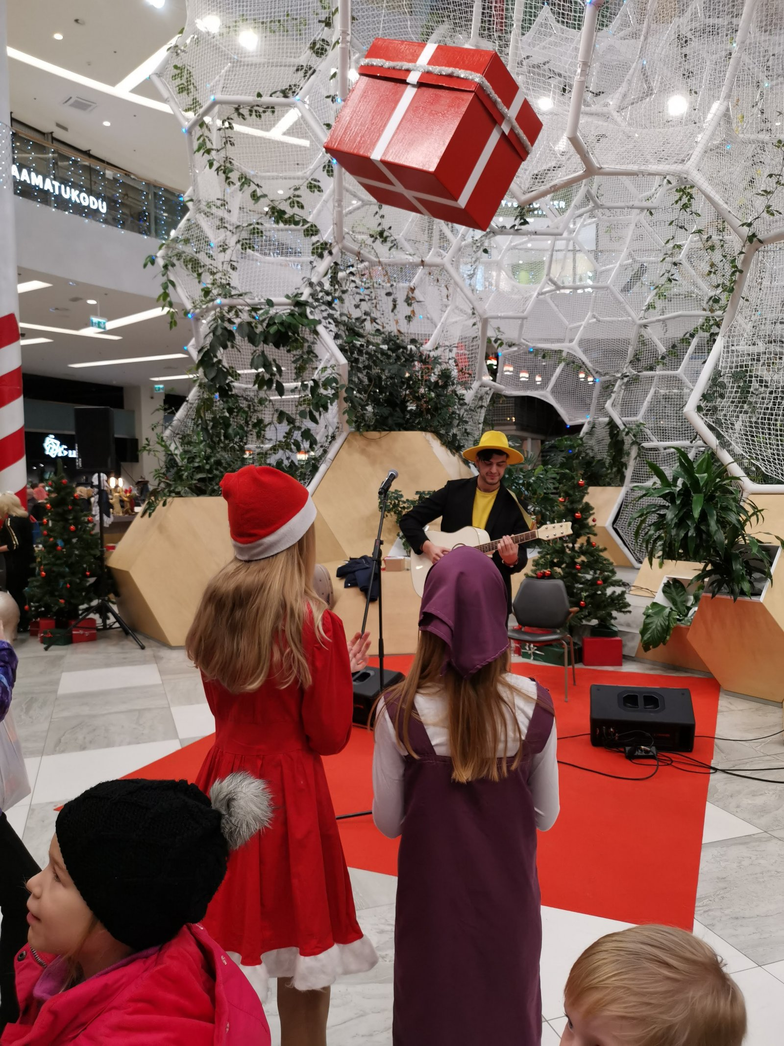 T1 Mall of Tallinn muutub jõulumaaks!: