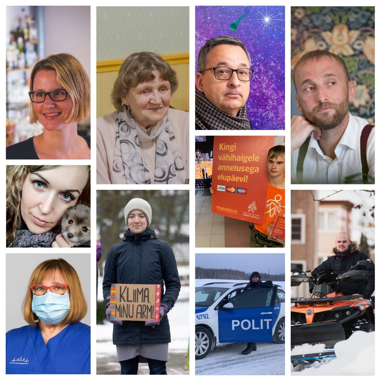103 HEATEGIJAT   Mida sina Eesti heaks teha saad? Need inimesed kannavad väikeste tegudega suurt missiooni