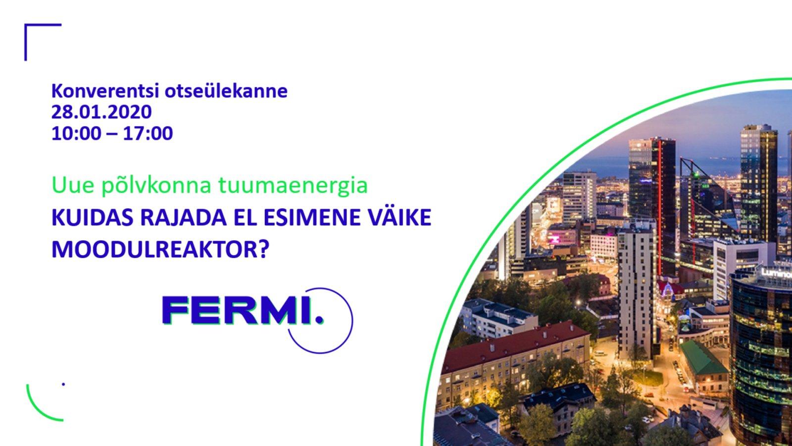 HOMME DELFI TV-s | Kuidas rajada Eestisse Euroopa Liidu esimene väike moodulreaktor?: