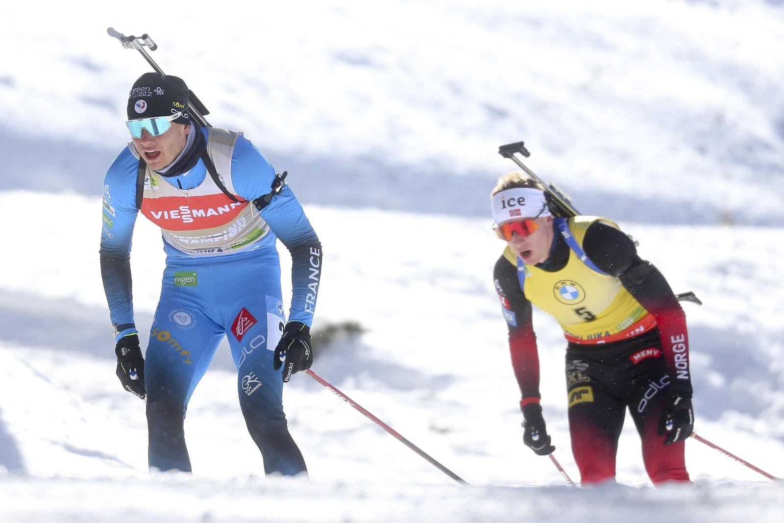 Johannes Thingnes Bö kiitis kõige ohtlikumat konkurenti:  ma ei suuda ealeski nii kiiresti lasta