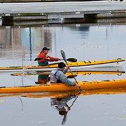 Mehed aerutasid kajakiga Saaremaalt Rootsi pealinna: