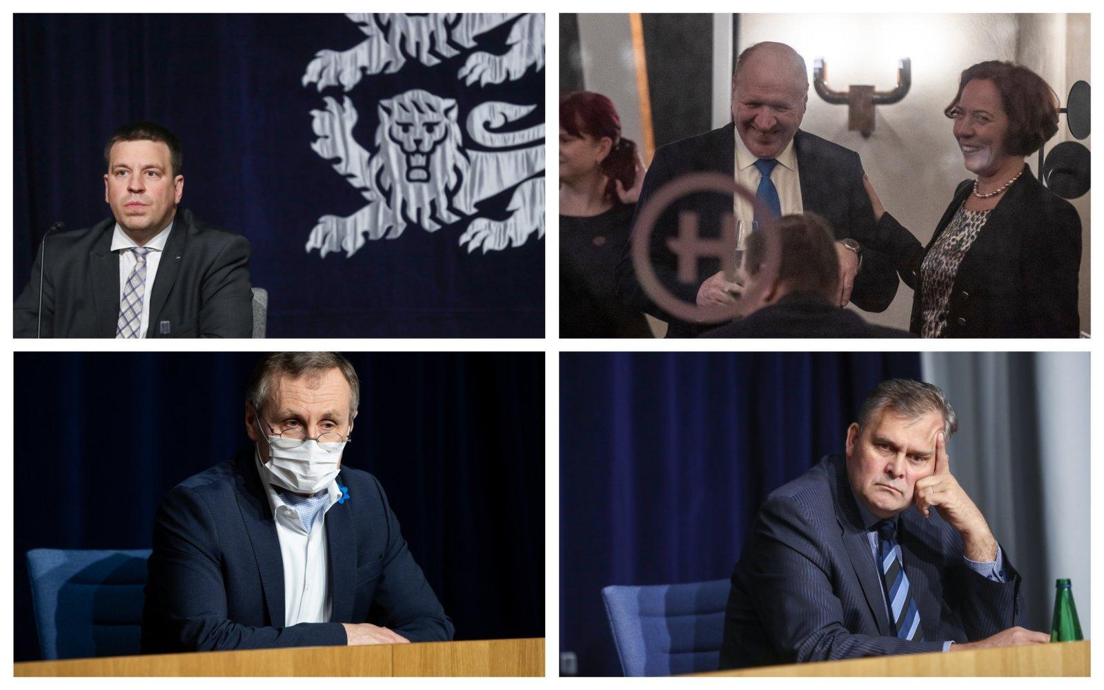 Ministrite rahaline seis:  kel on suurimad laenud, kes on sissetulekus 20 000 kaotanud, kes 30 000 eurot võitnud ja kes investeerib julgelt börsil?