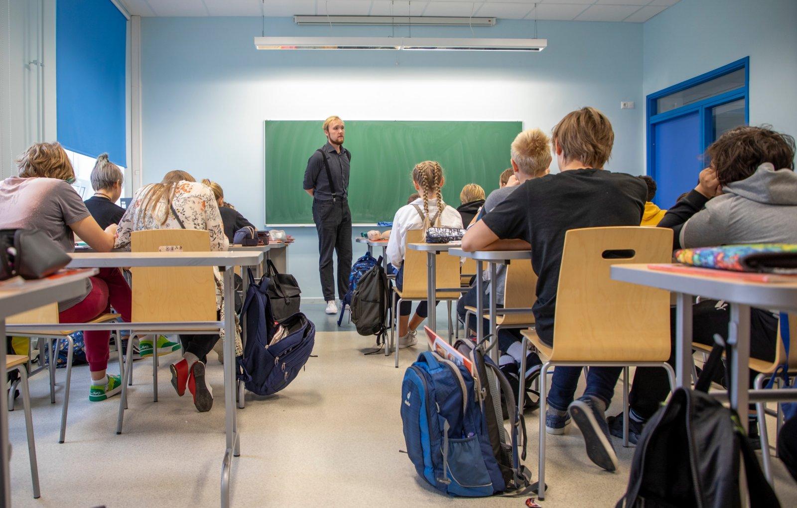 PÄEVA TEEMA | Siim Ruul:  õpetajate palk pole väike, kuid õpetajate puudust see ei lahenda