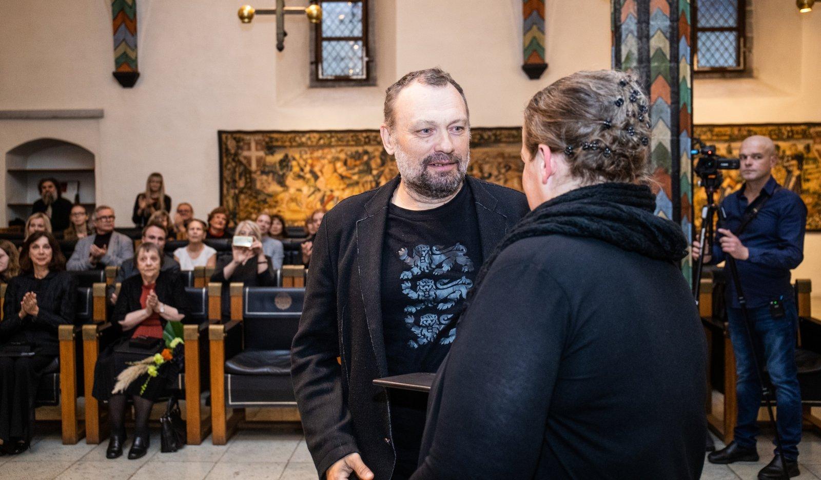 FOTOD | Tallina Raekojas anti üle Kristjan Raua nimelised preemiad