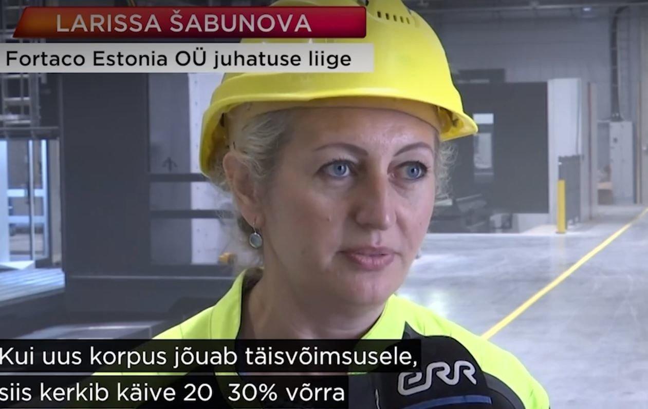 Head sõnumid Ida-Virumaalt. Narva sai uue tehase näol suure tööandja: