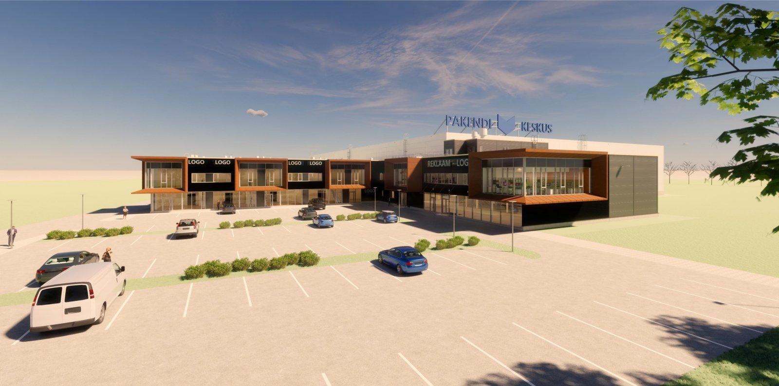 Nordecon ja Eventus Ehitus ehitavad Pakendikeskusele 5,3 miljoni eest logistikakeskuse: