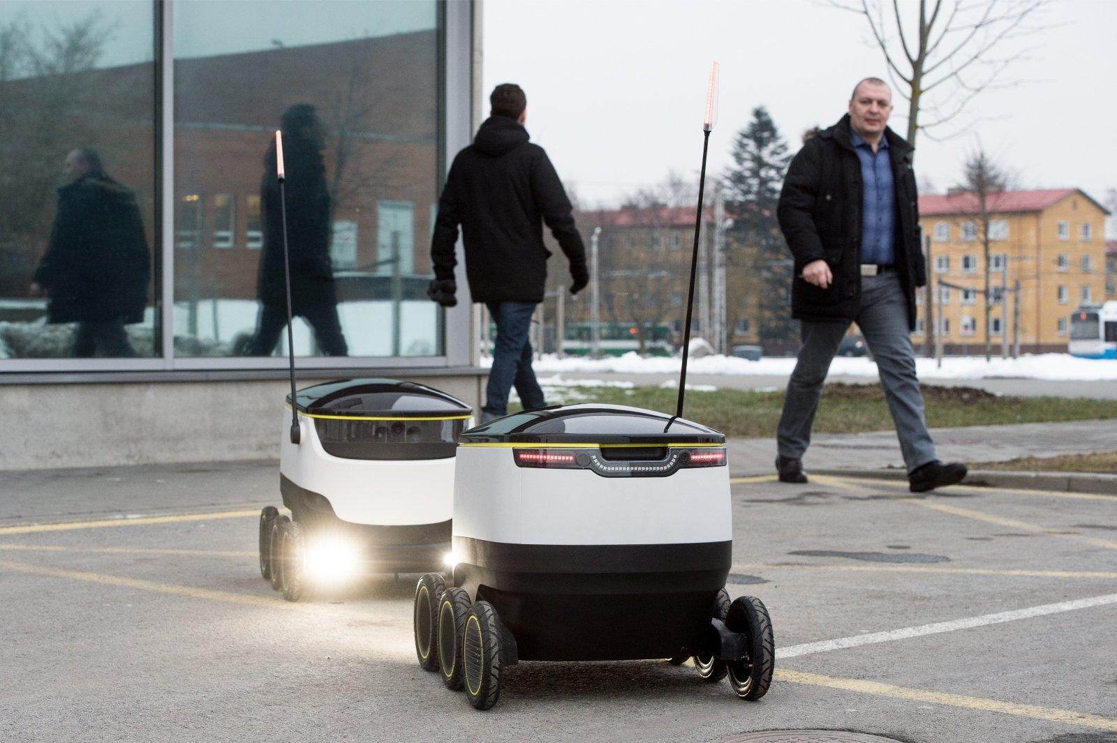 Suurbritannias asuvad Eesti pakirobotid äratasid Financial Timesi tähelepanu
