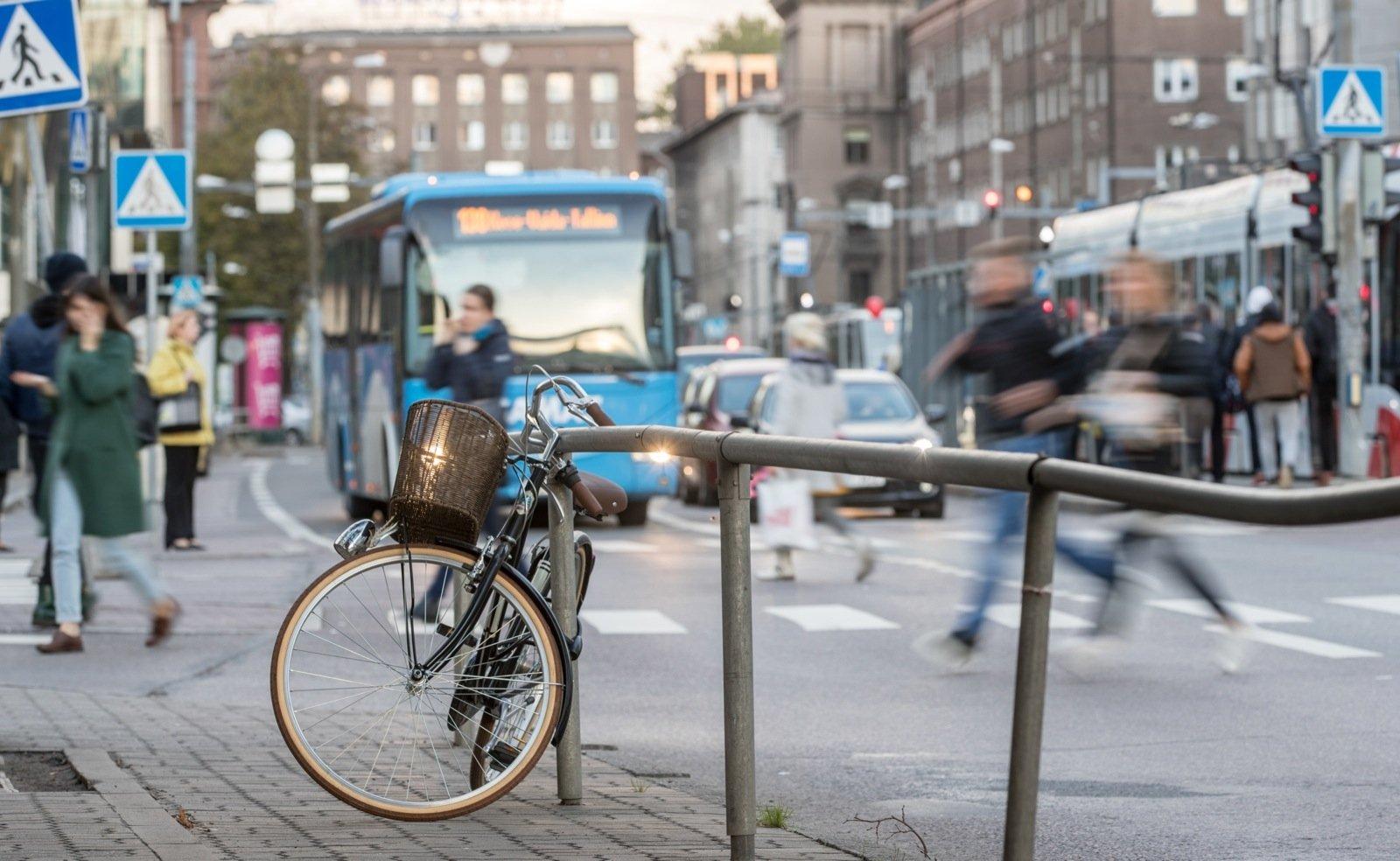 KAART | Linlased tahaks Tallinna kesk- ja vanalinnas näha üle 80 jalgrattaparkla: