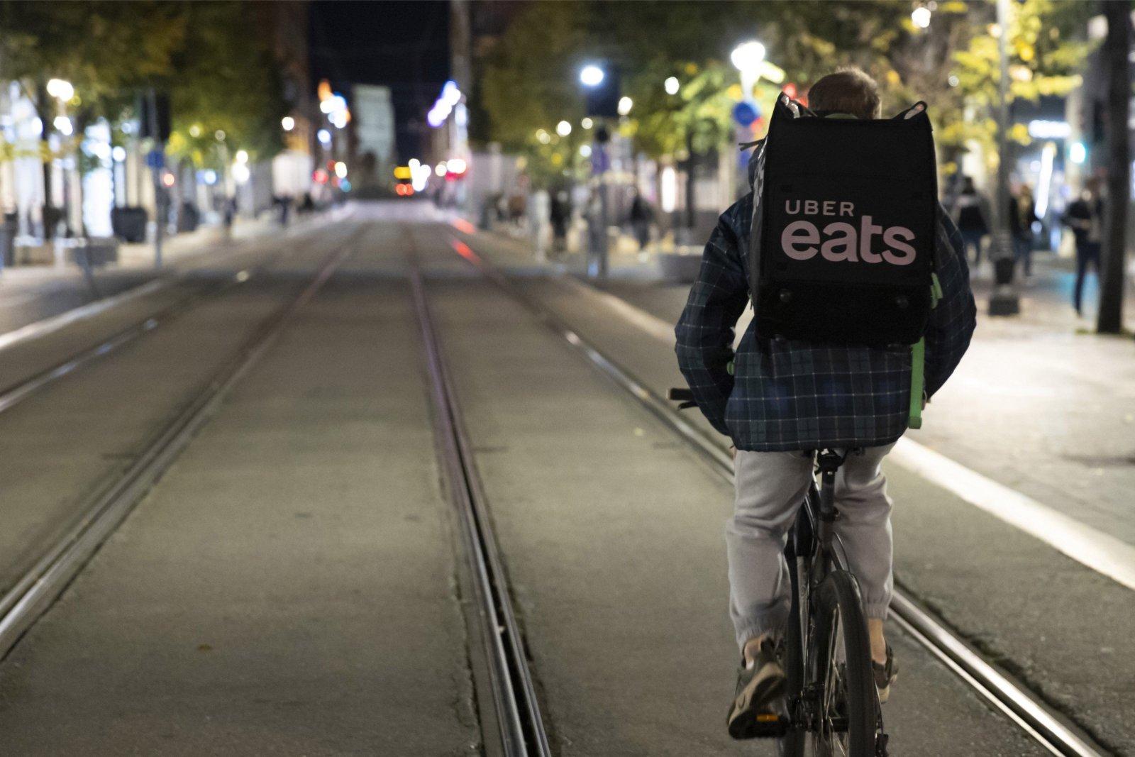 Uberi juhi sõnul on toidu kojutellimises leidnud aset põhjapanev muutus